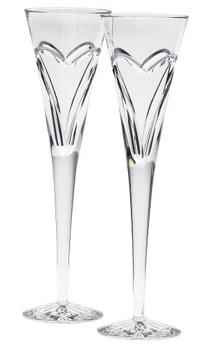 Waterford Wishes Love and Romance Flutes, Set of ()