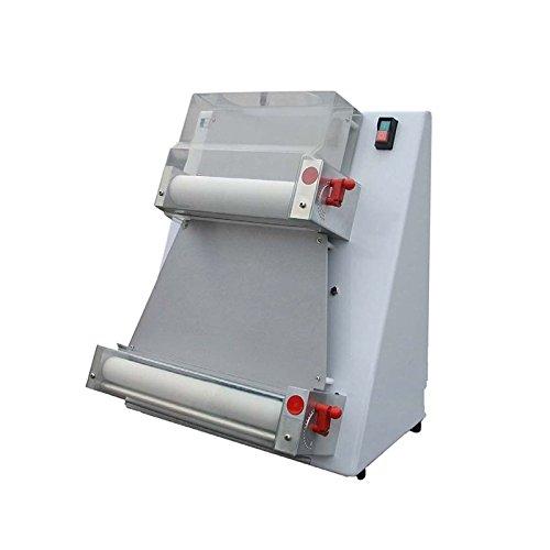 (Pizza Press Machine 15inch 370w Automatic Pizza Dough Roller Sheeter Machine, Pizza Machine Press Pizza Noodle Press Pizza Making Machine (Ship from USA))