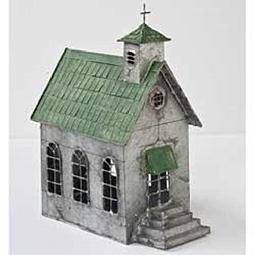 Miniature FAIRY GARDEN Country Church (Cherub Weathervane)