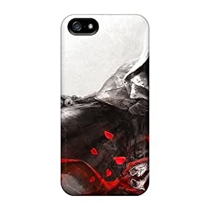 For GAwilliam Iphone Protective Case, High Quality For Iphone 5/5s Assassins Creed Skin Case Cover by lolosakes