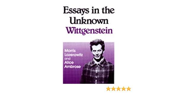 Wittgenstein essay resume sales objectives statement