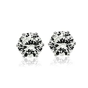 Silver Plated Stud earring for women-J05