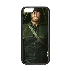 Arrow funda iPhone 6 4.7 Inch Negro de la cubierta del teléfono celular de la cubierta del caso funda EBDOBCKCO17889