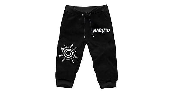 TSHIMEN Pantalones Cortos Hombre New Balance Naruto Pantalones ...
