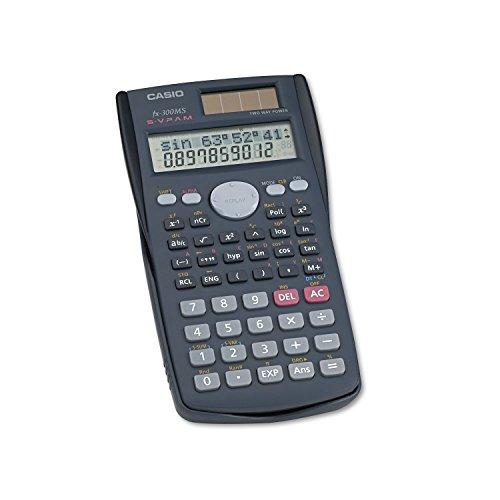3 Pack FX-300MS Scientific Calculator, 10-Digit LCD by CASIO