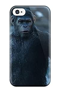 Ultra Slim Fit Hard ZippyDoritEduard Case Cover Specially Made For Iphone 4/4s- Dawn Of The Planet Of The Apes
