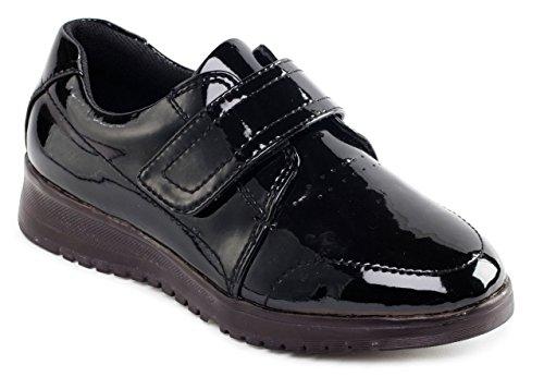 Padders - Zapatillas para mujer negro (black patent)