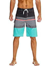 Men's Sportwear Quick Dry Board Shorts with Lining
