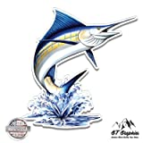 Marlin Jumping - Vinyl Sticker Waterproof Decal