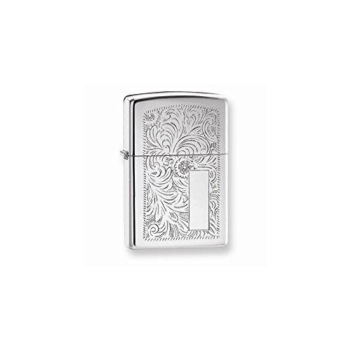 Zippo Regular High-Polish Chrome Venetian ()