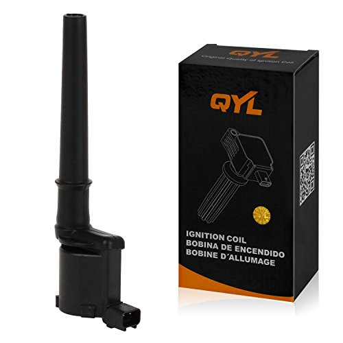 QYL Ignition Coil Pack Replacement for Ford GT Mustang Lincoln Aviator Blackwood Continental Mark VIII Navigator Mercury Marauder V8 4.6L 5.4L DG543 DG512 UF191 5C1128 50045 4L7Z12029AA