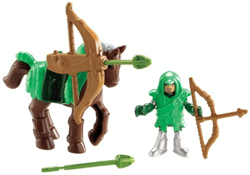 Fisher-Price Imaginext Eagle Talon Castle Archer and Horse