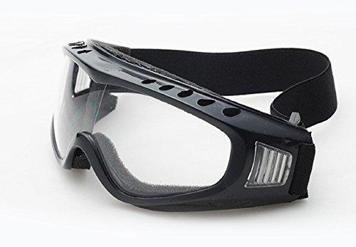 OEM Outdoor Ski Goggles Dustproof Snow Glasses Men Women Motocross Riot Control Goggles Snowboarding Cheap Snowboard Goggles (Clear) (Ski Riot)
