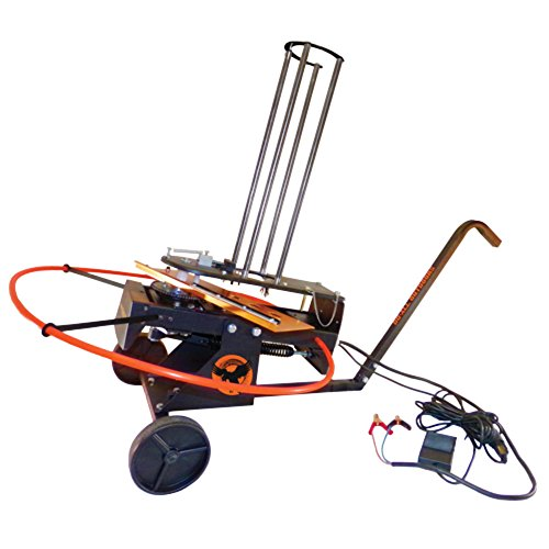 Do-All Outdoors Raven Automatic Clay Pigeon Skeet Thrower with Wheels, 50 Clay Capacity by Do-All Outdoors (Image #1)