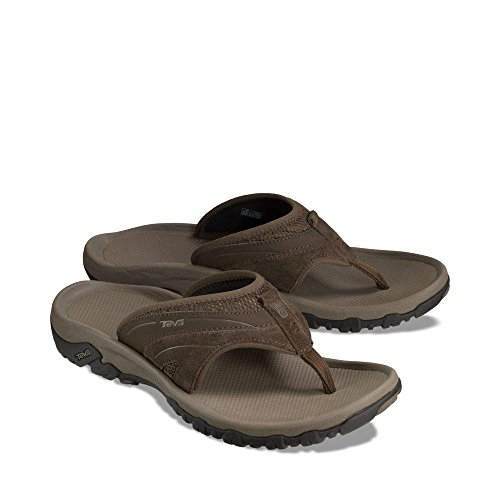 Pictures of Teva Men's Pajaro Flip-Flop Brown D(M) Mens 2
