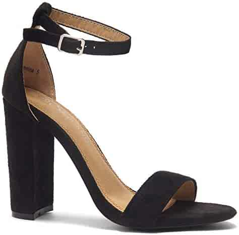 fb611441e0904 Shopping Black - 2 Stars & Up - Heeled Sandals - Sandals - Shoes ...