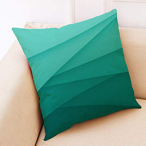 Sheet Thomasville Fitted (Weiliru Colorful Geometric Throw Pillow Covers Cases Cotton Linen Square Decorative Cushion Covers Pillowcase Cushion Case for Sofa,Bed)