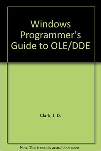 Buy Windows Programmer's Guide to OLE/DDE Book Online at Low Prices