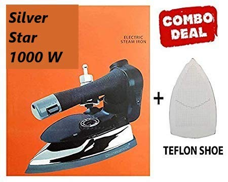 Best Silver Star 1000W 220V Industrial Electric Steam Iron ES-3 with 4.0 L.Water Tank with...