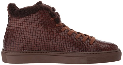 Medium Brown Leather Embossed Marvin K by Aquatalia Alonzo Mens 0FxyYZ