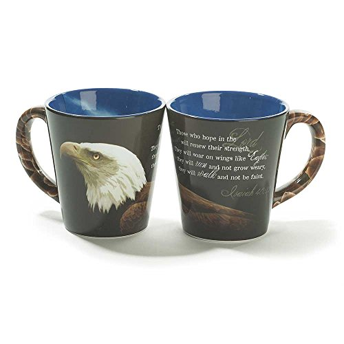 Stoneware Mug – Eagle – Those Who Hope
