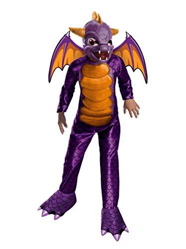 Deluxe Skylanders Child Costume Deluxe Spyro - Medium -