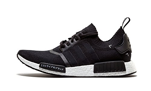 Adidas Mens Nmd_r1 Pk Japan Cblack / Ftwwht Woven