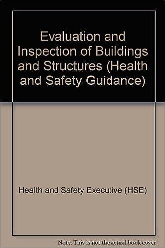 Meilleure vente de livres électroniques en téléchargement gratuit Evaluation and Inspection of Buildings and Structures (Health and Safety Guidance) PDF MOBI