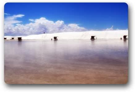 "Customize Machine-washable Durable Indoor/Outdoor Doormat -- Cool Sea Beaches Scenery Custom Floor Mat/Gate Pad 23.6""(L) x 15.7""(W)"