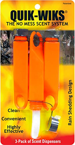 (Wildlife Research 363 Quik-Wiks Scent Dispenser, 3 Pack)