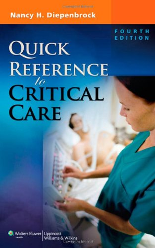 Quick Reference to Critical Care by Brand: Lippincott Williams Wilkins