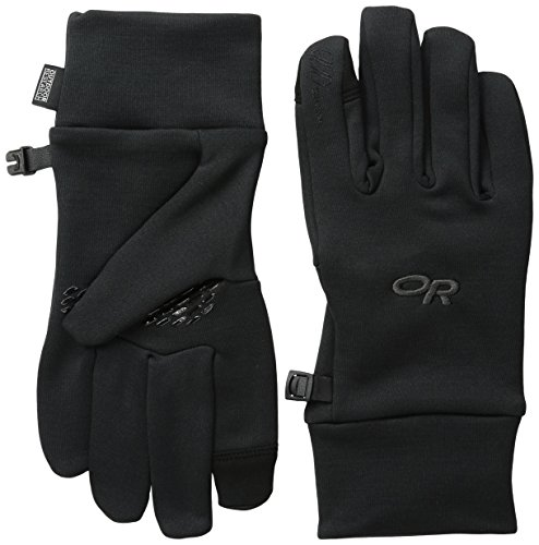 Outdoor Research Women's Pl 100 Sensor Gloves, Black, Small