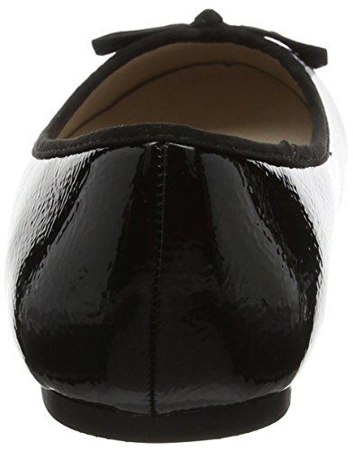 Evans Black Nero Ballerine 01 Donna Roo rBRrqxO