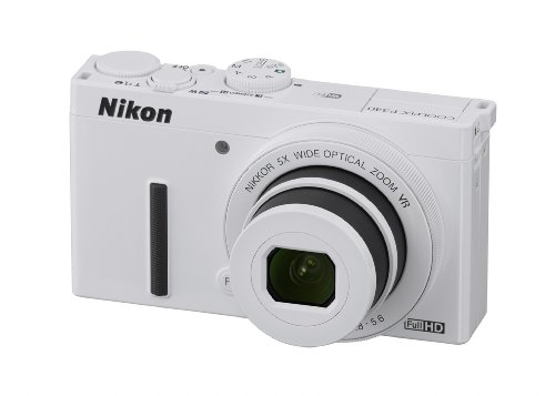 Nikon Coolpix P340 12.2 Mp Wi-fi Cmos Digital Camera with 5x Zoom Nikkor Lens and Full Hd 1080p Video (White)