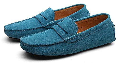 Go Tour , Sandales Compensées homme - bleu - bleu ciel,