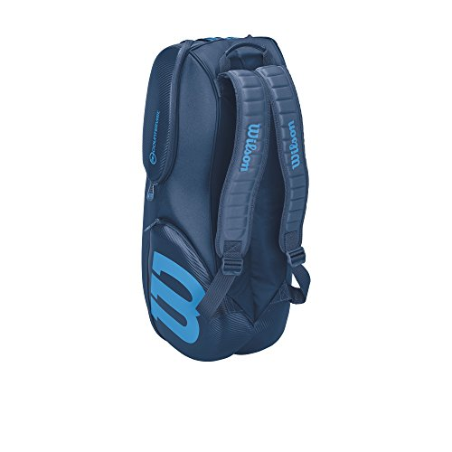 Vancouver Racket Bag, Ultra Collection - 9 Pack (Blue) by Wilson (Image #3)