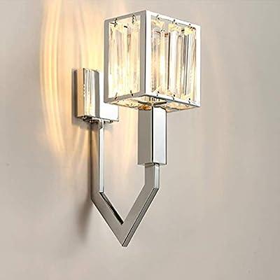 Modern Sliver Crystal Wall Lamp Wall sconce Light Living Room lighting Lamp