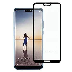 5D Screen Protector Full Glue for Huawei P20 Lite -Black