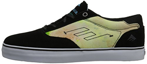 EMERICA Skate Shoes THE PROVOST TOY MACHINE BLACK/BLUE/WHITE