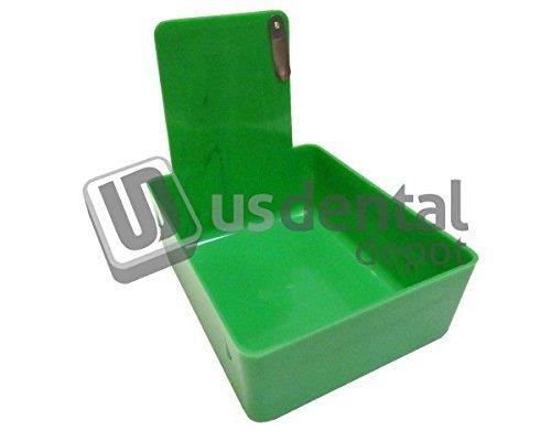 KEYSTONE - Classic Lab Work Pans - Green w/clip - 12pk - mad 034-7000375 Us Dental Depot