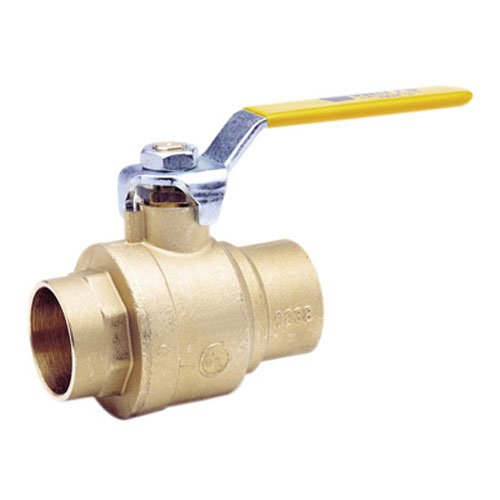Brs Gas Ball Valve - WATTS BRASS & TUBULAR 3/4 LFFBVS-3C 3/4