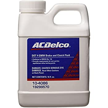 Genuine GM Fluid 88958860 DOT-4 Super Brake and Clutch Fluid - 250 ml