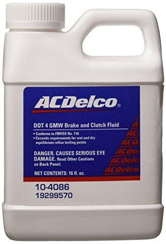 (Genuine GM Fluid 88958860 DOT-4 Super Brake and Clutch Fluid - 250 ml)
