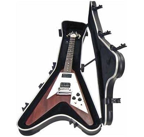 SKB Flying V - Funda rígida para guitarra: Amazon.es: Instrumentos musicales
