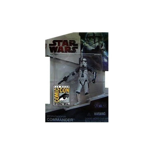 - Star Wars Hasbro 2009 SDCC San Diego Comic-Con Exclusive Force Unleashed Action Figure Stormtrooper Commander
