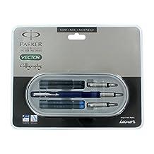 Parker Vector Standard Blue CT Calligraphy Fountain Pen