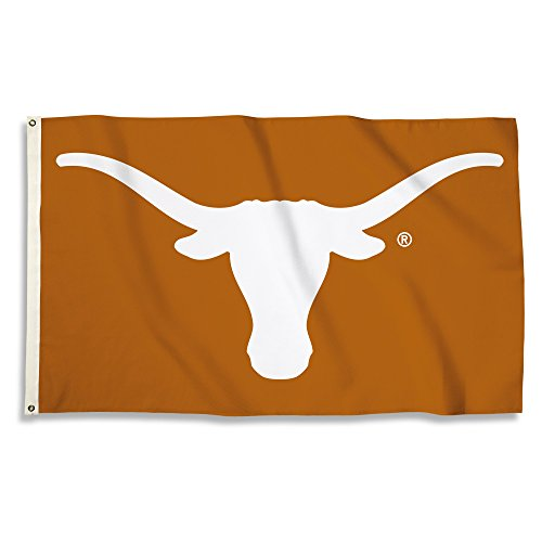 Banner Longhorns Ncaa Texas Fan - NCAA Texas Longhorns 3 X 5 Foot Flag with Grommets, Tennessee Orange,