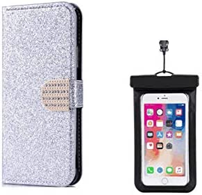 耐摩擦 手帳型 Huawei P30 pro ケース 本革 レザー手帳型スマホケース カバー 財布型 [無料付防水ポーチ]