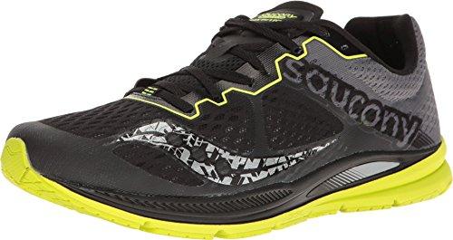 Saucony-Mens-Fastwitch-Running-ShoeBlackCitronUS-8-M