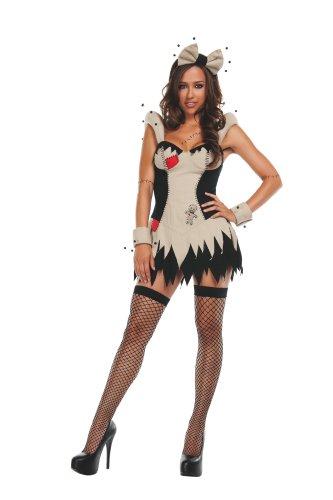 Starl (Voodoo Doll Costume Makeup)